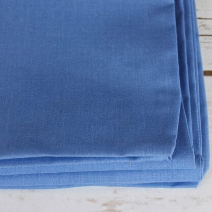 Laguna blue polycotton pillowcase