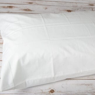 Cotton rich pillow case bag style