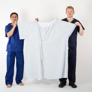 Bariatric patient gowns