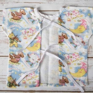 baby hospital gown