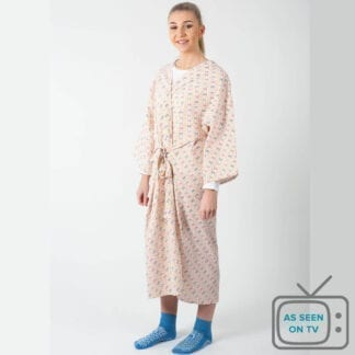 Hospital dressing gown as seen on TV