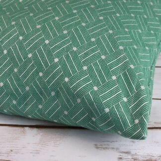 Seclusion green pillows