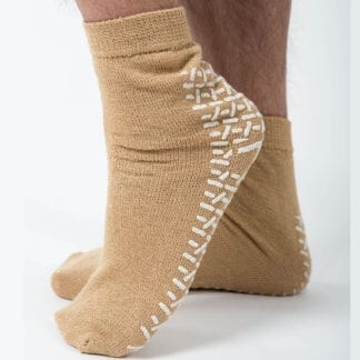 Non slip socks with grips