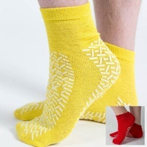 Fall prevention slipper socks extra large