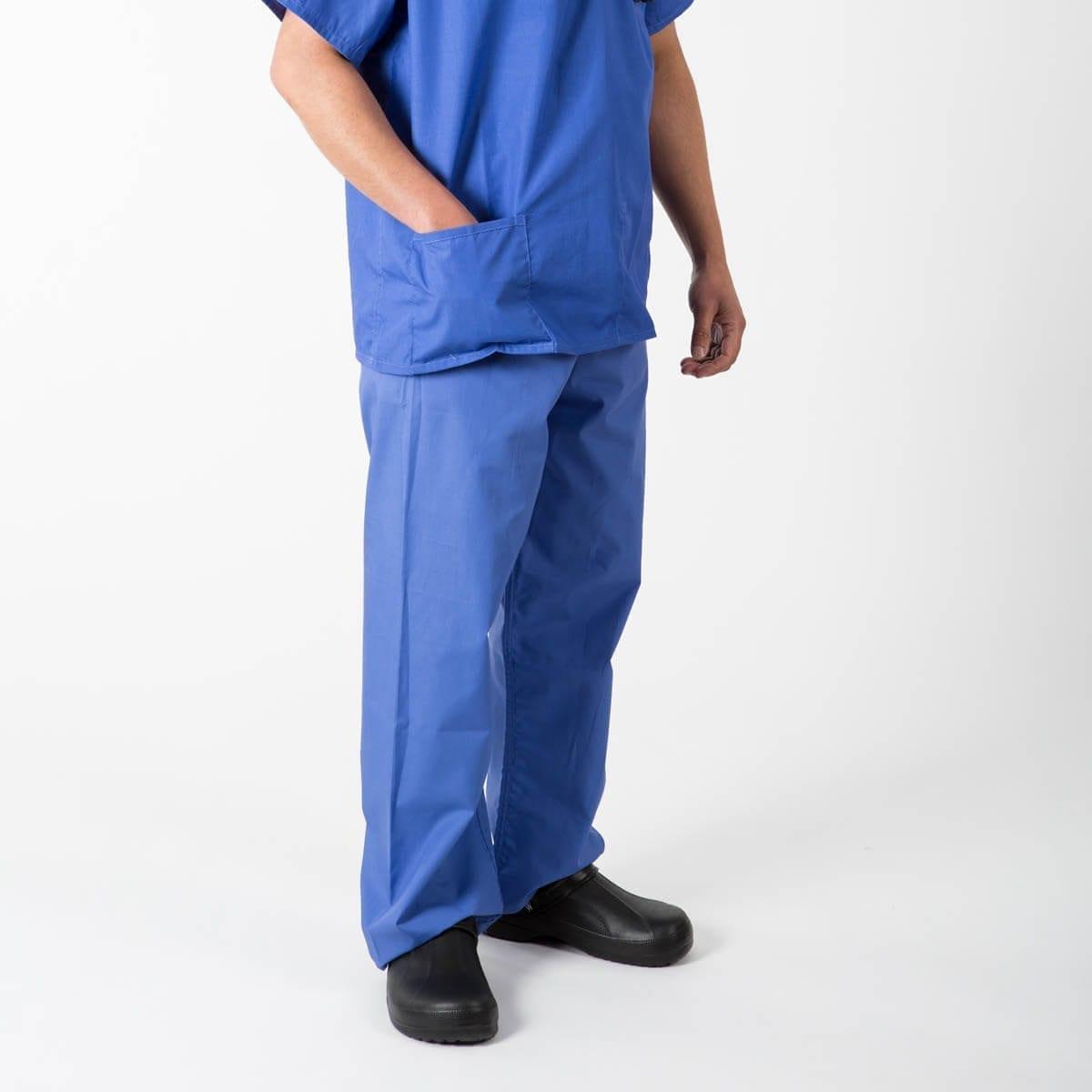 Mid Blue Scrub Pants | Scrub Suit Trousers | Interweave Healthcare
