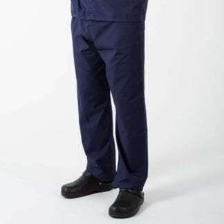scrub trousers navy