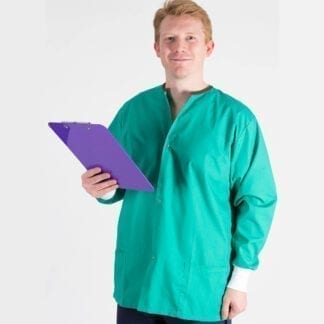 long sleeve scrub jacket