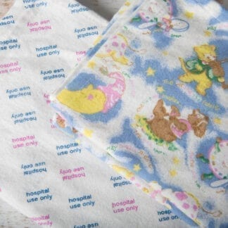 Flannelette baby wraps
