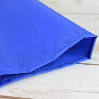 blue tubular slide sheet