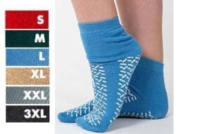 Slipper socks double tread - colours