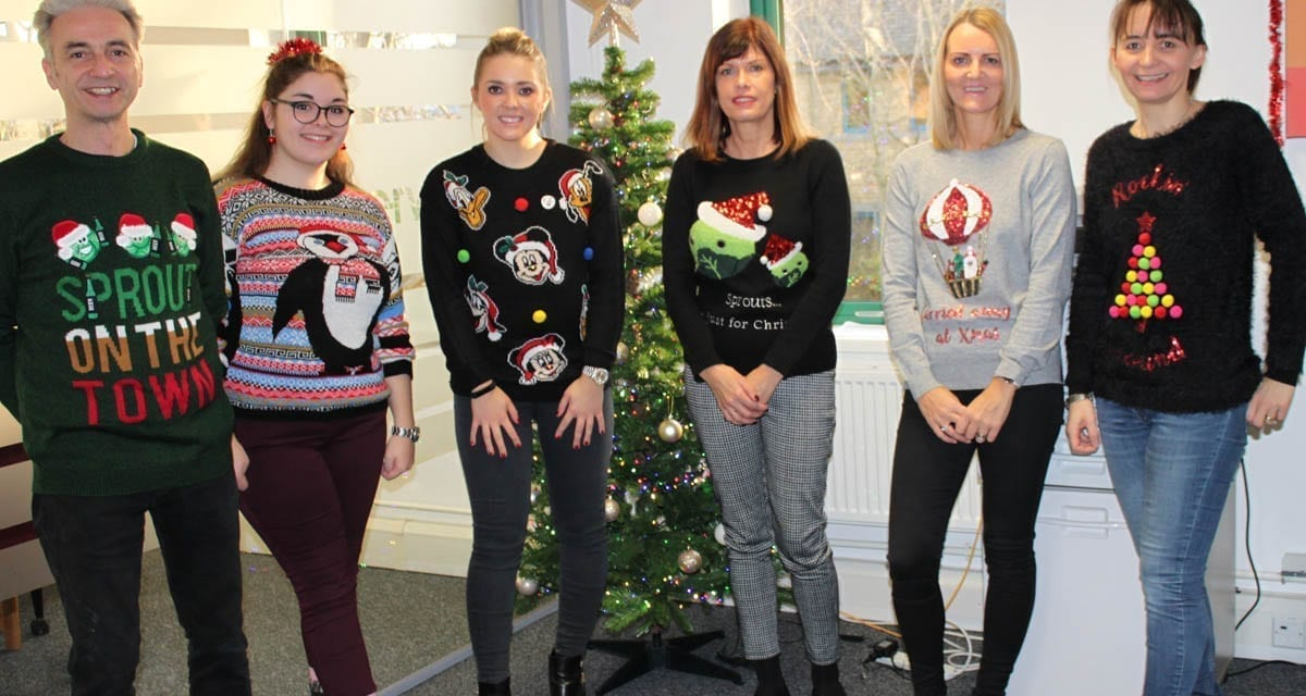 The Team Gets Festive with Christmas Jumpers!