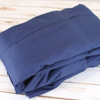 Large weighted blanket navy