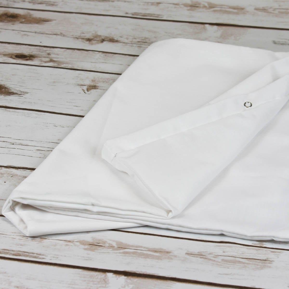 V Shaped Pillowcase White Easy Fit