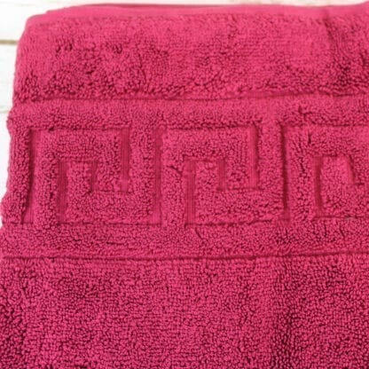 Bath mat wine