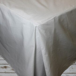 cotton bed valance