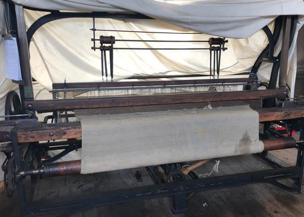 textile heritage loom