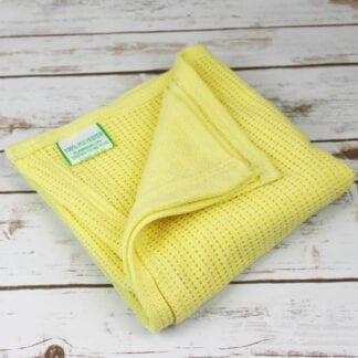 Flame retardant lemon blanket
