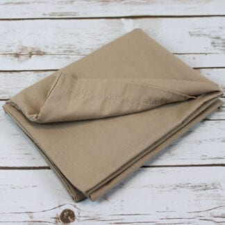 Polycotton pillowcase beige