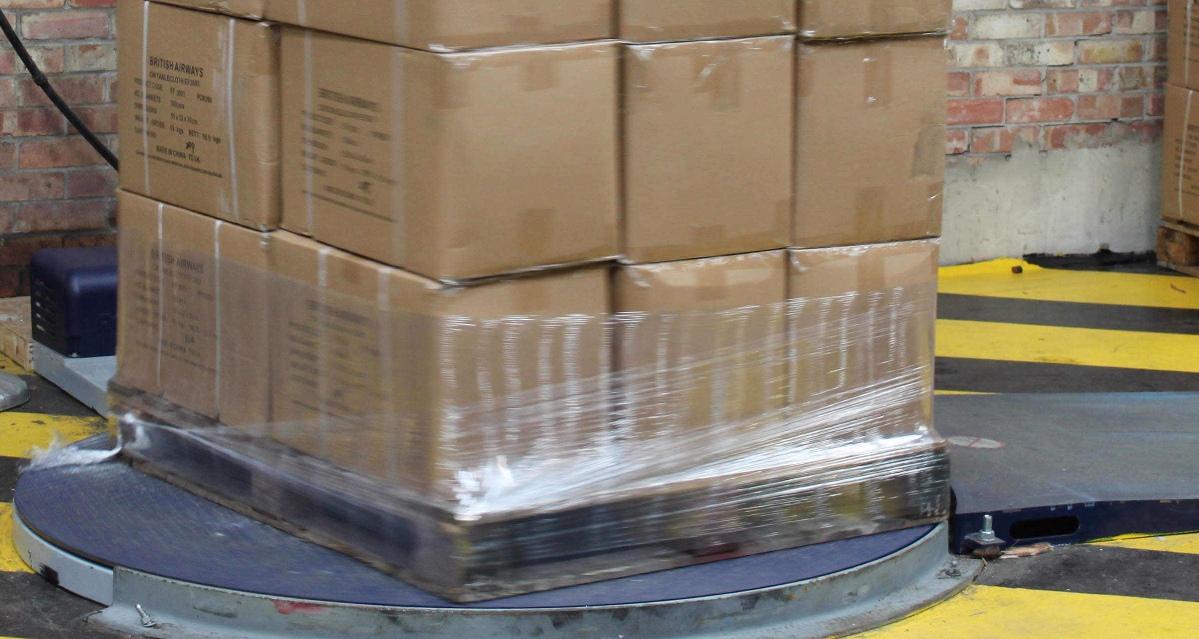 Pallet wrapping innovations reduce plastic use
