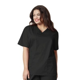 Wonderwork Womens V Neck Scrub Top