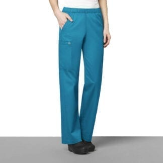 womens cargo scrub trousers