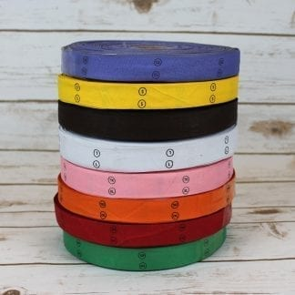 Scrubs size binding tape