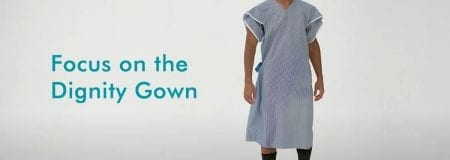 Focus on the Dignity gown