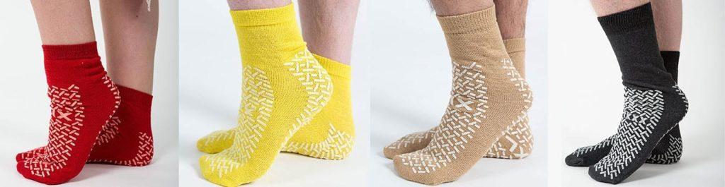 Fall prevention socks
