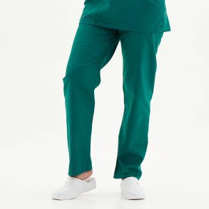 hunter green scrub pants