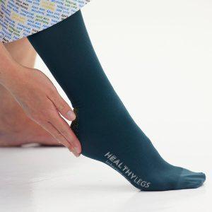 anti embolism knee length stockings